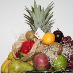 Cesta regalo fruta FRUTERIA DE VALENCIA - LEO VERDURES