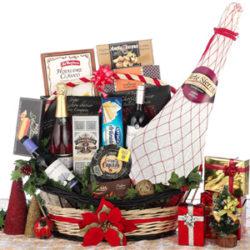 cestas con jamones navidad