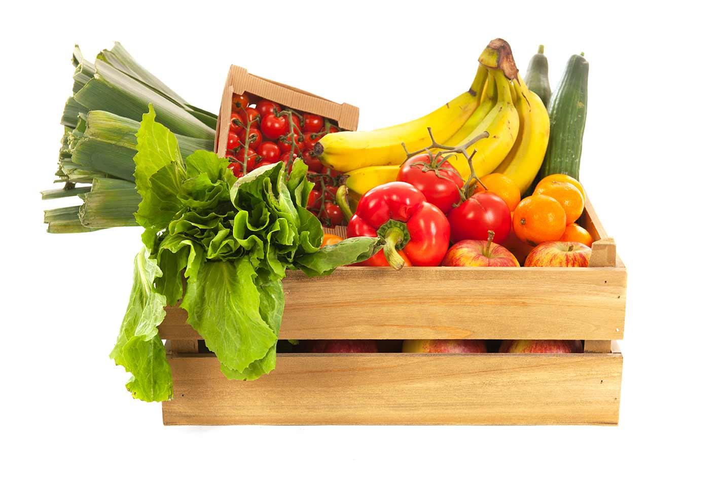 comida ecologica frutas y verduras frescas frutera de valencia - Cajas De Frutas