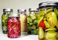 Comprar verduras en verano y preservarlas