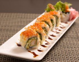 Sushi vegetariano: la última moda del sabor