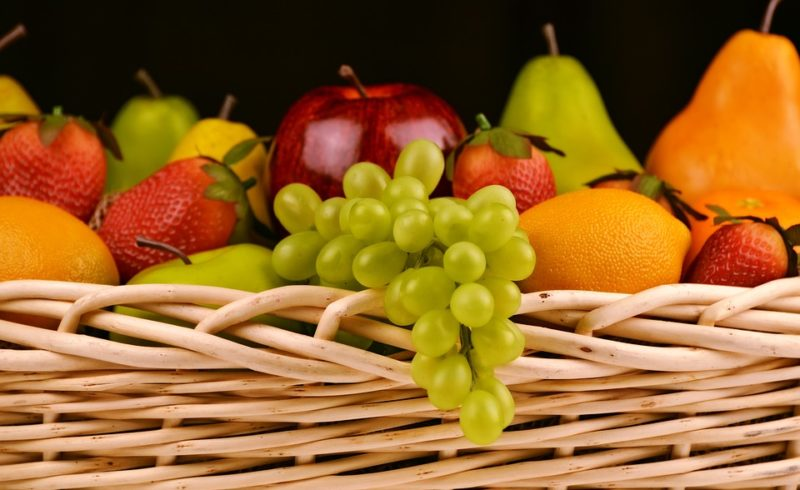 tipologías de cestas de frutas - Fruteria de Valencia