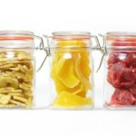 Caja de frutas deshidratadas