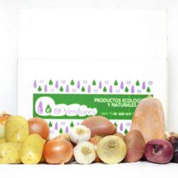 Caja de verduras y hortalizas