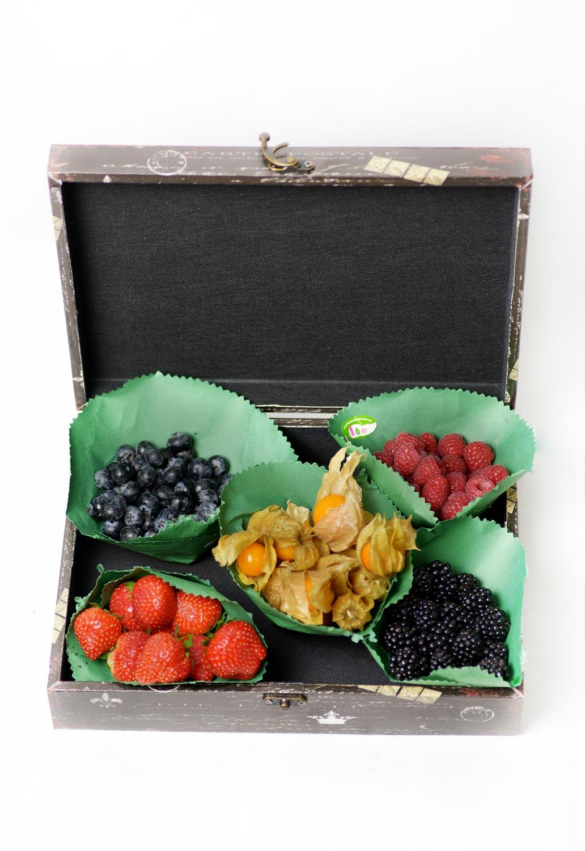caja de frutas del bosque - Cajas Fruta
