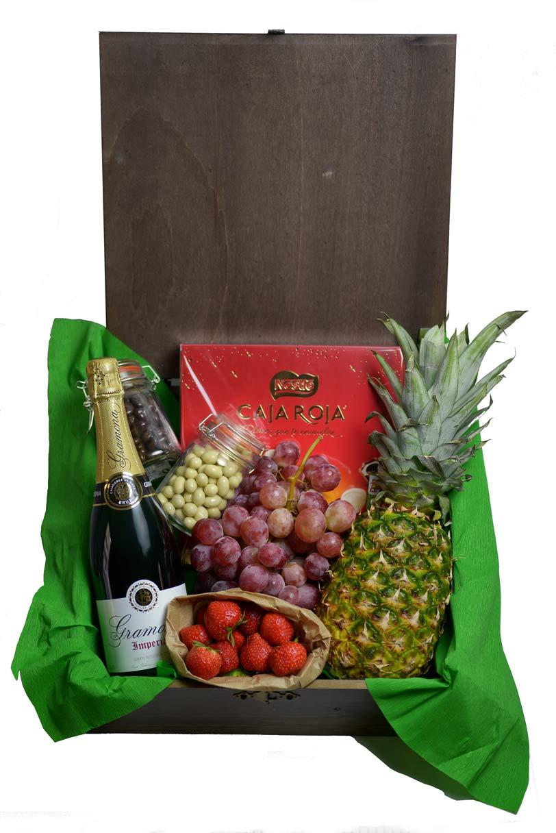 Cajas de fruta de madera para regalar fruter a de valencia - Cajas de madera para frutas ...