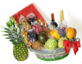 Cestas de frutas para Navidad